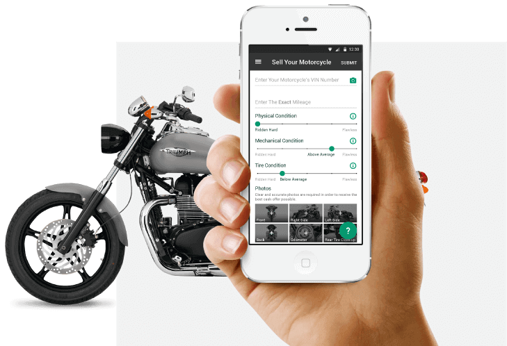 sell motorcycle online